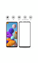 Load image into Gallery viewer, Samsung Galaxy A21s Tempered Glass Screen Guard Full Glue