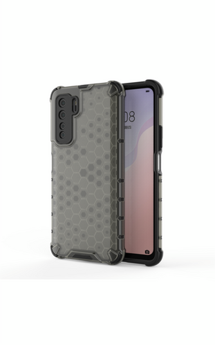 CellTime Huawei P40 Lite 5G Shockproof Honeycomb Cover - Grey