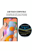 Load image into Gallery viewer, Samsung Galaxy A11 Tempered Glass Screen Guard Full Glue