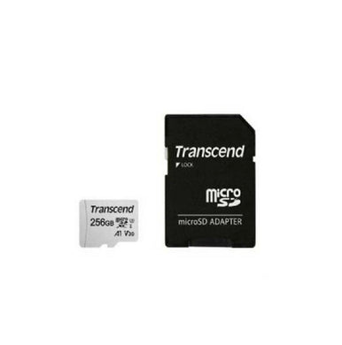 Transcend 256GB Micro SD XC 300s UHS-I with Adaptor