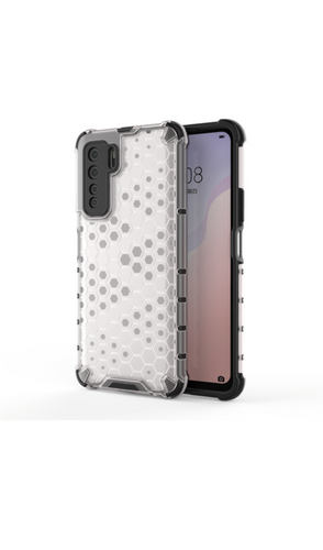 CellTime Huawei P40 Lite 5G Shockproof Honeycomb Cover - Transparent