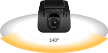 Load image into Gallery viewer, YI Mini Smart Dash 1080P 2MP 140 Micro SD Slot Camera Blac