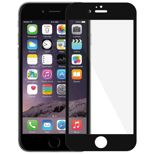 CellTime™ Full Tempered Glass Screen Protector for iPhone 6 / 6s - Black