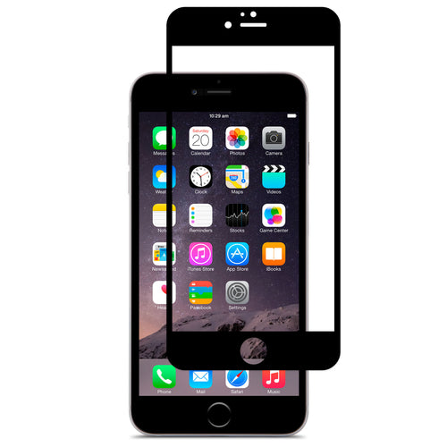 CellTime™ Full Tempered Glass Screen Protector for iPhone 6 Plus - Black