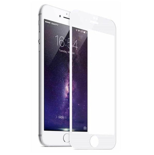 CellTime™ Full Tempered Glass Screen Protector for iPhone 6 / 6s - White