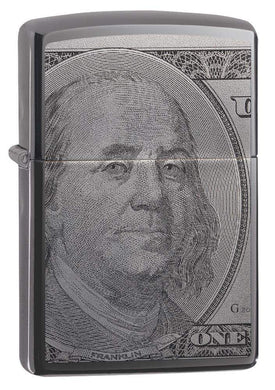 Zippo Lighter - Currency Design $100