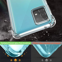 Load image into Gallery viewer, CellTime™ Galaxy A52 Clear Shock Resistant Armor Cover