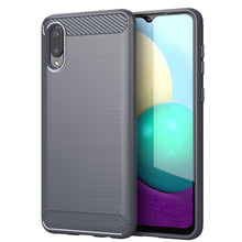 Load image into Gallery viewer, CellTime™ Galaxy A02 Shockproof Carbon Fiber Design Cover