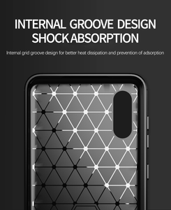 CellTime™ Galaxy A02 Shockproof Carbon Fiber Design Cover