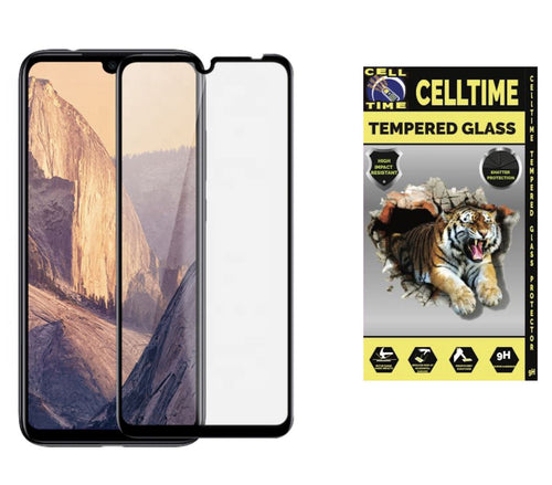 CellTime™ Full Tempered Glass Screen Guard for Xiaomi Redmi Note 8