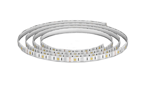Lifesmart BLEND RGB LED Light Strip (2M)|Controller (max 5m|2 x LED strip ports) - AC Power Supply - White