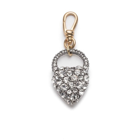 Crystal Heart Charm by LuLu Frost