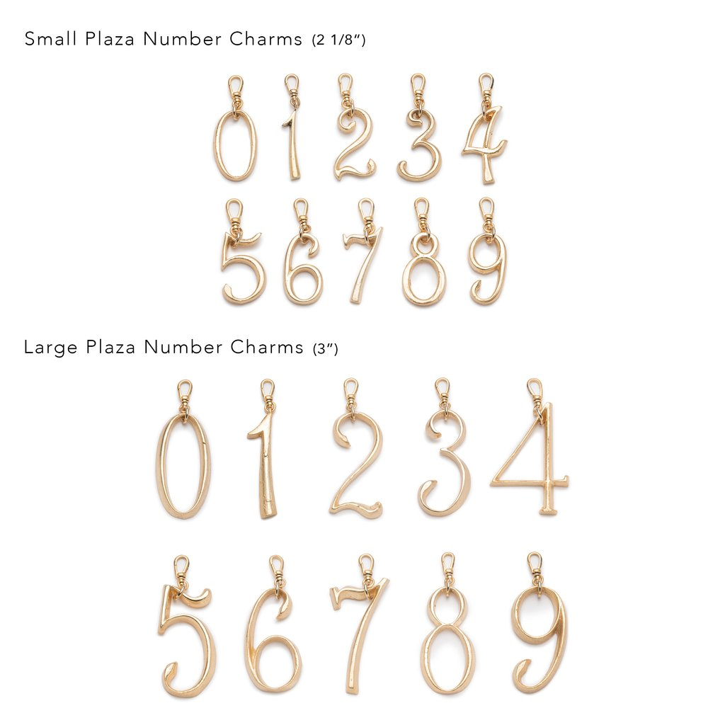 Plaza Small Numbers by LuLu Frost