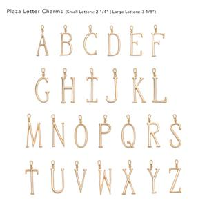 Plaza Small Letters by LuLu Frost