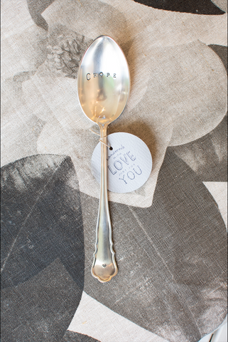 Keepsake Tablespoons by Fourchette & Cie