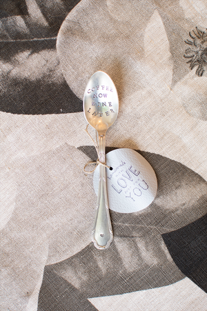 Keepsake teaspoons by Fourchette & Cie