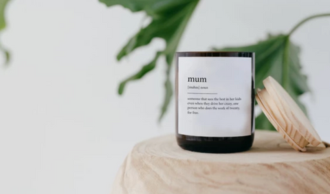Quote Candles by The Commonfolk Collective