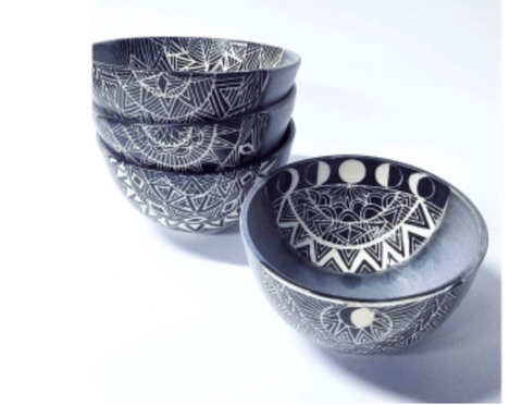 Spirit Eye Small Bowl by Deme