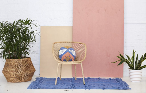 Calypso Round Cushions by Langdon LTD