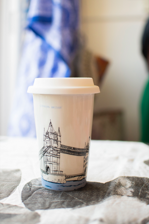 Reusable Coffee Mug by Blank Slate Home