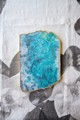 Agate Coasters by Shiva Designs Bespoke