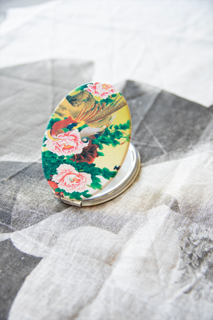 Compact mirrors by Shiva Designs Bespoke