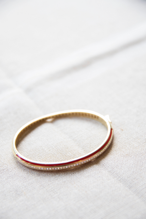 Turkish stripped bangle
