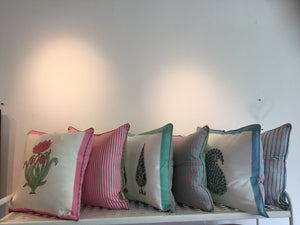 Jungalow Cushion Collection by Shiva Designs Bespoke