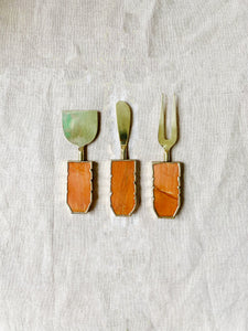 Quartz Antipasti Knives Set by Shiva Designs Bespoke