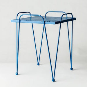 Retro Mesh Metal Tables by MJG