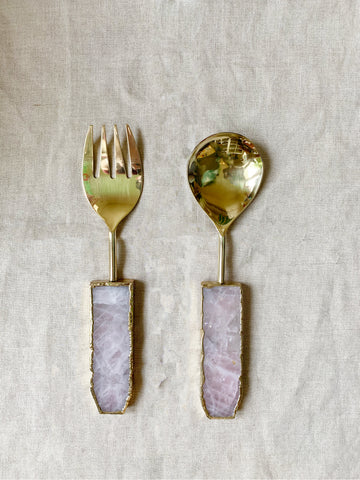 Salad Servers by Shiva Designs Bespoke