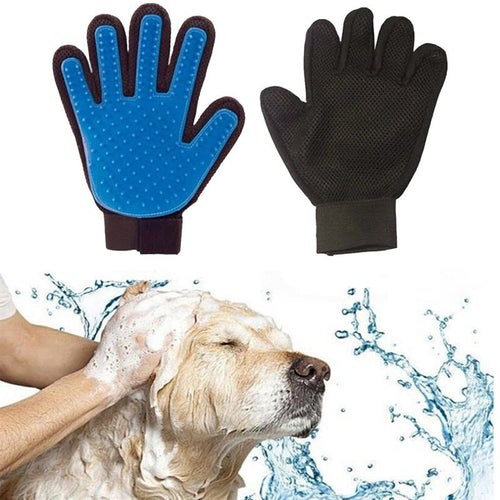 Silicone bath massager glove
