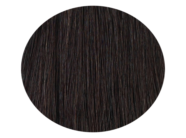 Nail Hair Black Brown #1b