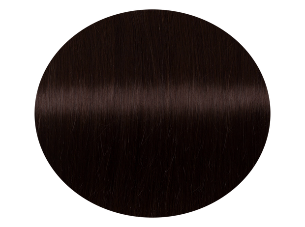 Hairweft Dark Brown #2