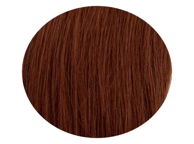Clip-on set Mahogny Red Brown #33