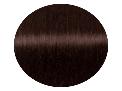 Hairweft Chocolate Brown #4