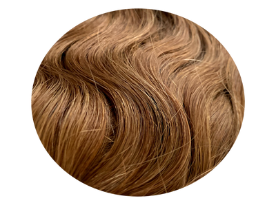 Clip-on set WAVY Brown #8-wavy