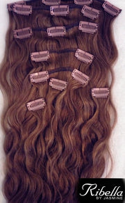 Clip-on set Chocolate Brown #4