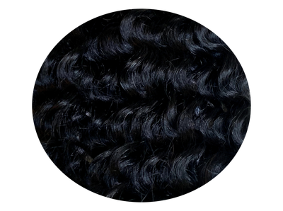 Hairweft CURLY Black #1-curly