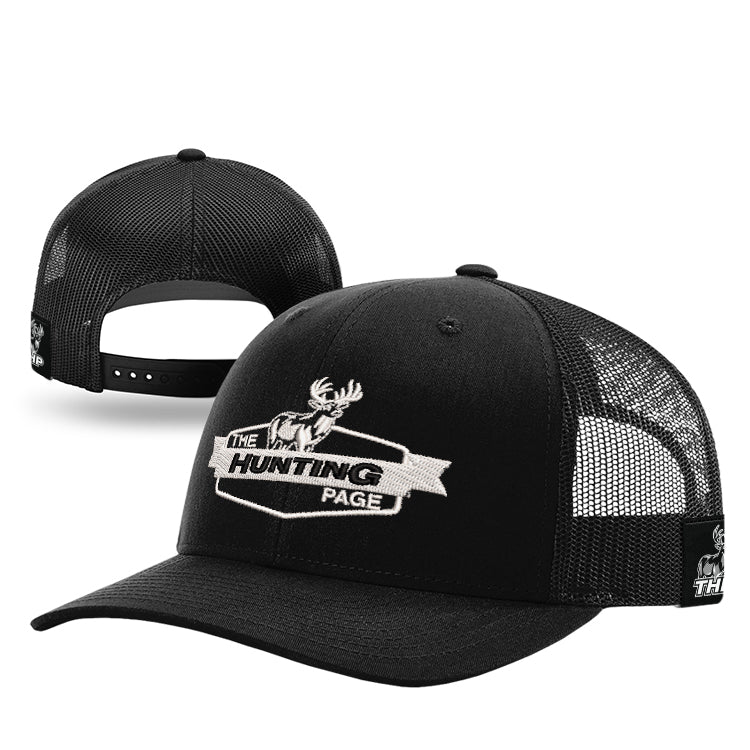 The Hunting Page Banner White Trucker Hat