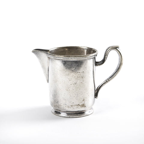 Antique Hotel Silver Creamer