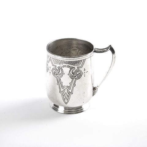 Antique Victorian Silver Cup