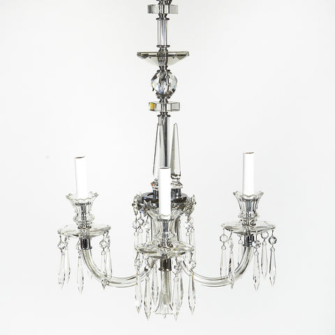 Art Deco Crystal Chandelier