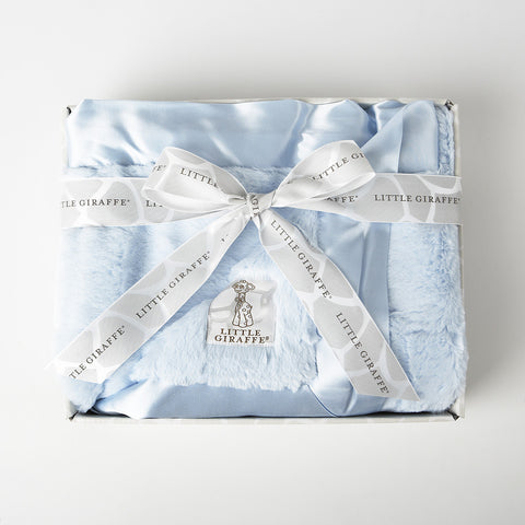 Blanket in a Box Luxe Blue