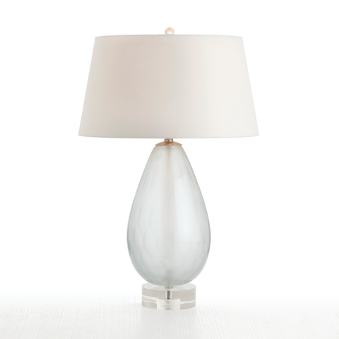 Frosted Teardrop Lamp