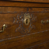 Hand-carved Louis XVI Chest