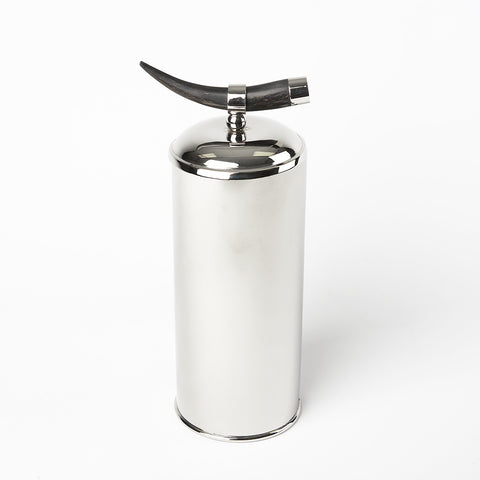 Ice Bucket with Horn Handle Medium