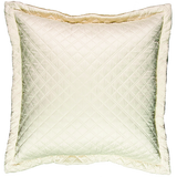 Silk & Sensibility Ivory/Ecru Quilted Coverlet Set