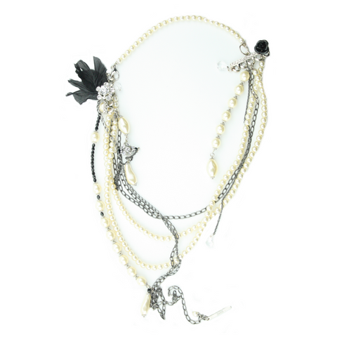 J.D. Brami Pearl Chain Necklace