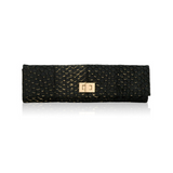 Long Clutch Black